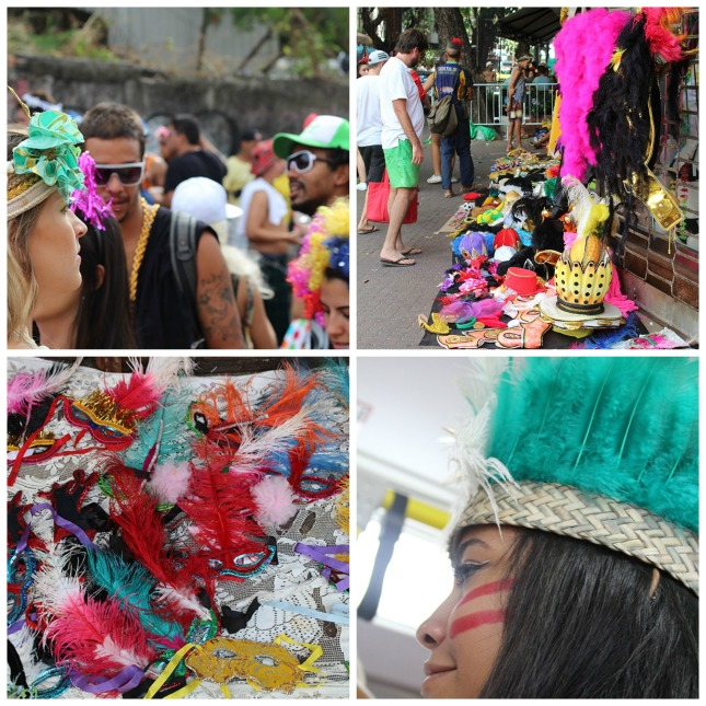 Carnaval Clothes Collage III