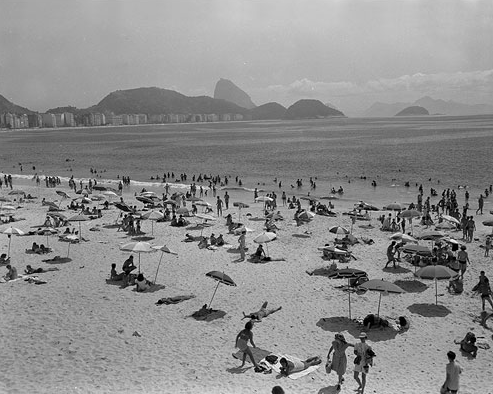Copacabana beach, 1940