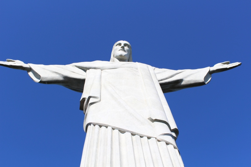 Cristo Redentor (Christ the Redeemer) - a local resident of nearby Cosme Velho.