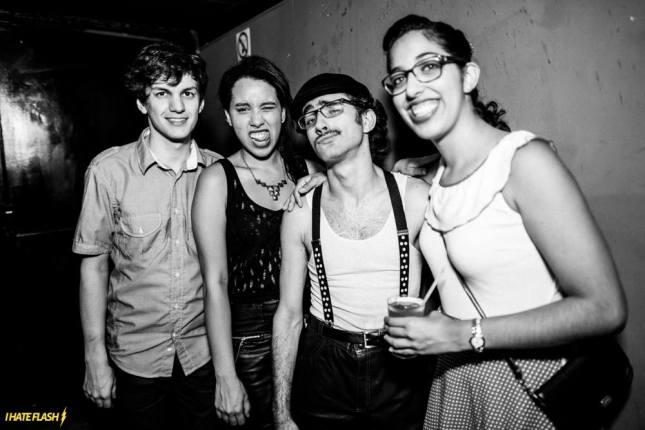 (L-R) Luiz, Joy, Pedro & Gabriella