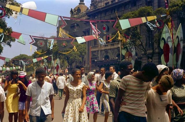 Carnaval, Rio de Janeiro, 1964
