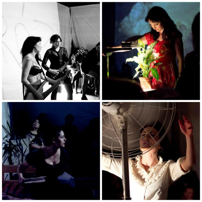ROZA - Lowri Evans, Martha Kiss Perone & Lucia Bronstein. Photos by Marilia Scharlach.