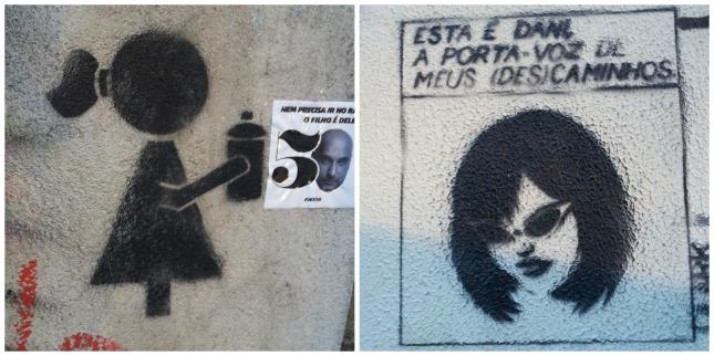 Some Sao Paulo graffiti.
