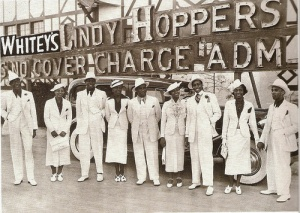 The infamous Whiteys Lindy Hoppers formed in 1935 by Herbert 'Whitey' White.