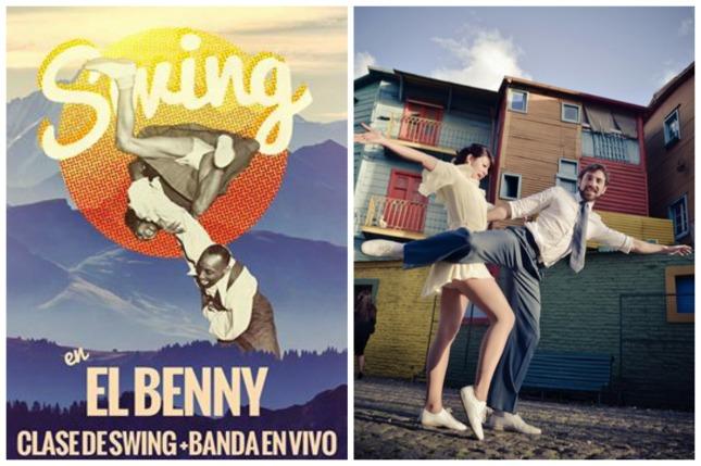 'Baila Swing' con Lu Salinas y Jose